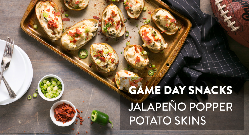 Healthy Jalapeno Potato Skins