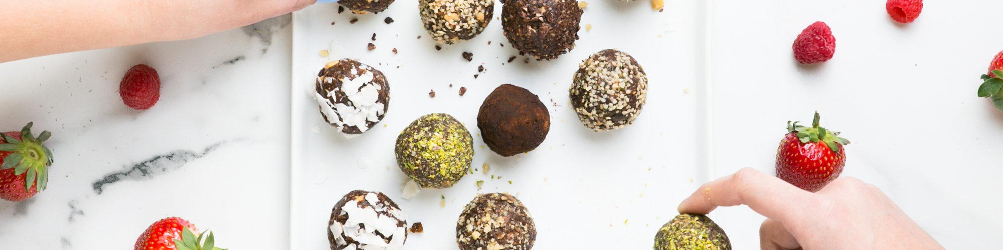 Valentine's Day Raw Chocolates