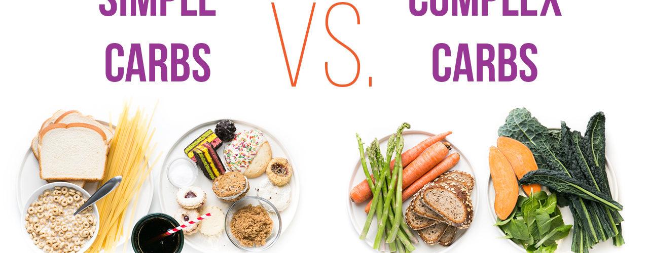 simple carbs vs. complex carbs