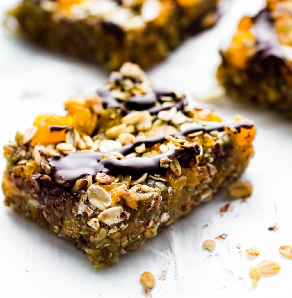 no bake vegan granola nutrition bars cotter crunch - vegan nutrition bars