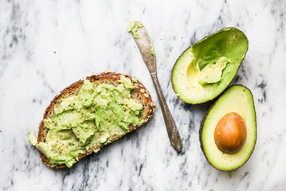 How To Easily Tell When an Avocado is Ripe - avocado toast