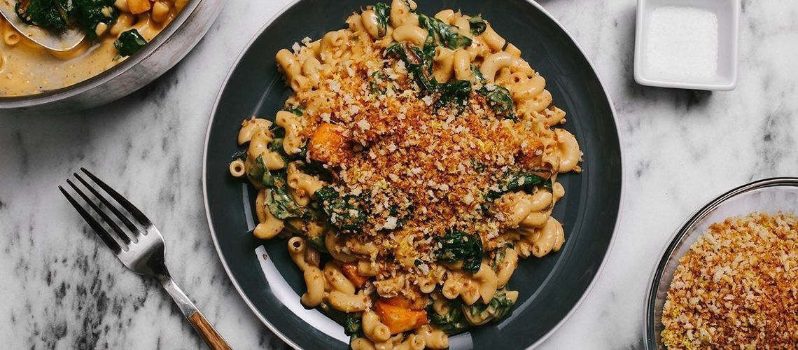 mac and cheese vegan comfort food