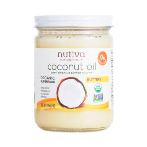 nutiva coconut oil butter spread vegan