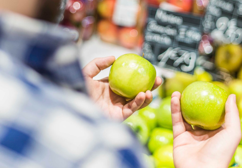 plan ahead at the grocery store eat less meat