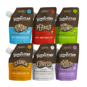 yumbutter nut butters vegan