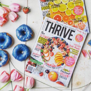 thrive magazine plant-based lifestyle